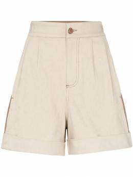 See By Chloé - two-tone shorts 99ADS659639398905500