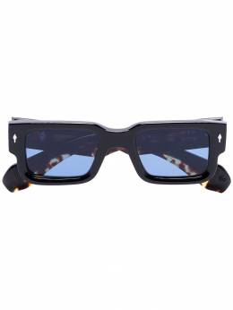 Jacques Marie Mage - black square-frame acetate sunglasses AS699593593500000000