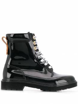 See By Chloé - logo laced boots 3956A969909503656300