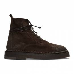 Marsell Brown Parapa Anfibio Boots 192349M25500109GB