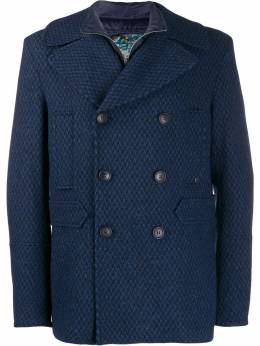 Etro - double-breasted wool coat 68663995399588000000