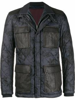 Etro - quilted camoflage coat 63600095399568000000