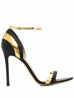 Gianvito Rossi - two-tone high-heeled sandals 563XNM95088993000000