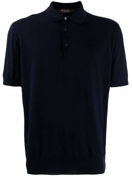 Loro Piana - knit polo shirt 69359509936600000000