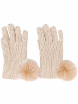 Loro Piana - short knitted gloves 36099536835000000000