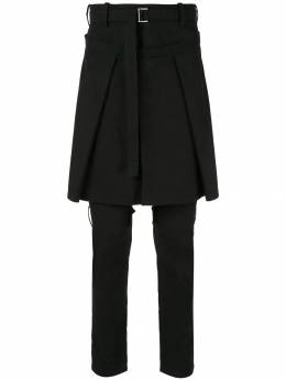 Sacai - belted apron trousers 0636M950906590000000