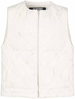 Jacquemus - romarin padded cotton gilet BL639969996A95953635