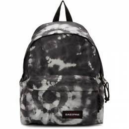 Eastpak SSENSE Exclusive Black and White Tie Dye Padded Pakr Backpack 192132M16605601GB