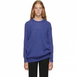 Max Mara Blue Relax Knitted Sweater 13660893000 12099