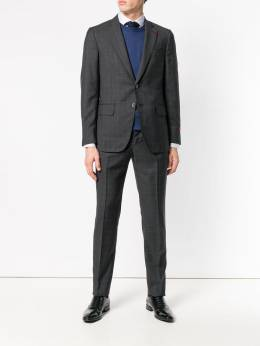 Isaia - checked two-piece suit 9H939305090000000000