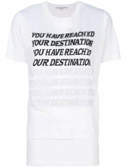 Stella Mccartney футболка 'You Have Reached Your Destination' 502406SKW20