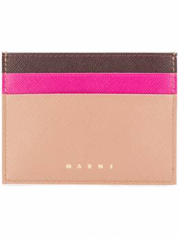 MARNI colour blocked card holder PFMOQ04U12LV520