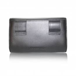 Alexander Wang Black Leather Fanny Pack Clutch 187985
