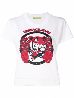 Versace Jeans - logo patch T-shirt RB339365866639066653