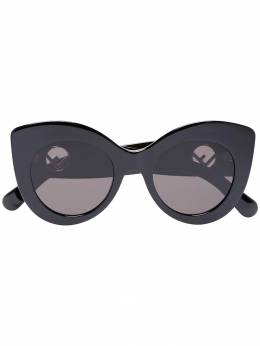 Fendi Eyewear - Black F Is For Fendi Sunglasses 63986356IR9083063600