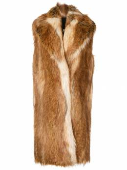 Philosophy di Lorenzo Serafini faux fur sleeveless coat V06087176