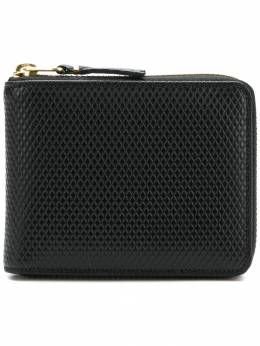 Comme des Garcons Wallet diamond effect zip around wallet SA7100LG