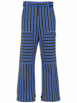 Reinaldo Lourenço striped cropped trousers 05120370