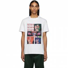 Stella Mccartney White The Beatles Edition Oversized Printed T-Shirt 572483SMP52
