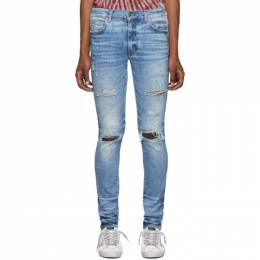 Amiri Indigo Thrasher Plus Jeans 192886M18605404GB