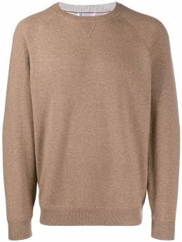 Brunello Cucinelli - relaxed-fit knit sweater 69098CA0989500099300