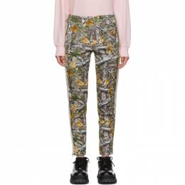 Palm Angels Multicolor Wood Camo Classic Track Pants 192695F08602903GB