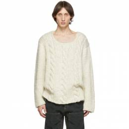 Jacquemus Off-White La Maille Berger Sweater 196KN02