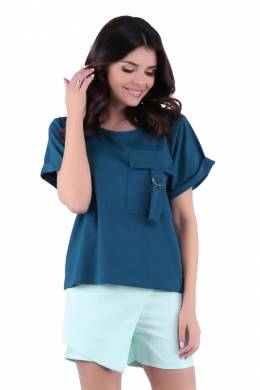 blouse Foggy FG218_GREEN