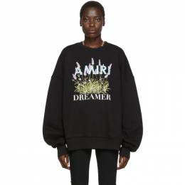 Amiri Black Flower Dreamer Sweatshirt 192886F09800303GB