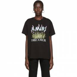 Amiri Black Flower Dreamer T-Shirt 192886F11000102GB