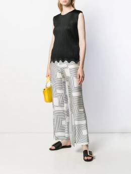 Pleats Please By Issey Miyake - pleated design blouse 8JK65995356658000000