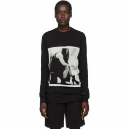 Rick Owens DRKSHDW Black Rick Long Sleeve T-Shirt 192126F11000302GB
