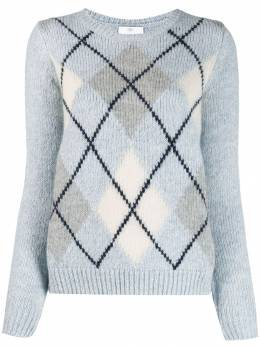 Allude - check patterned sweater 66060695353365000000