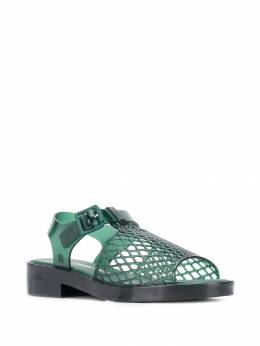 Opening Ceremony - mesh look jelly sandals 35953399060000000000