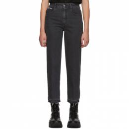 Stella Mccartney	 Black Vintage Cropped Jeans 565114SLH24