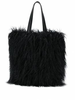 Coccinelle - textured furry tote PB996969955693050000