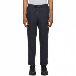 Kenzo Navy Tapered Trousers F965PA2151RB
