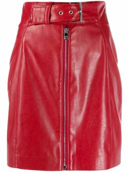 MSGM - belted zip-front mini skirt 0MDD9659958699556535