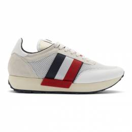 Moncler White Horace Sneakers E209A 10191 00 01AMQ