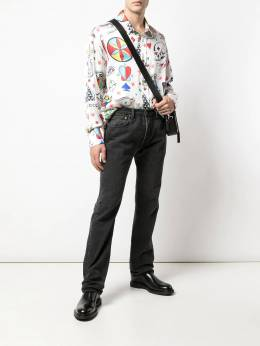 The Elder Statesman - relaxed-fit printed shirt BTNL9538993300000000