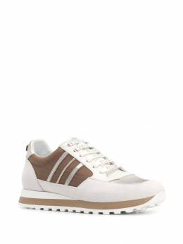 Peserico - stripe low-top sneaker 360C6R95593006000000