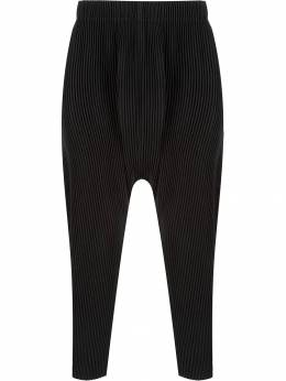 Homme Plissé Issey Miyake - drop-crotch trousers 8JF93895953568630000