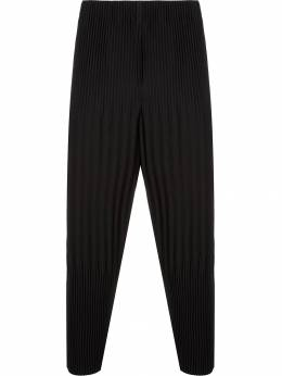 Homme Plissé Issey Miyake - pleated drop-crotch trousers 8JF95995953568660000