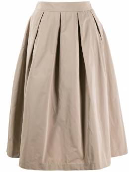 Peserico - pleated midi skirt 03995596906000000000