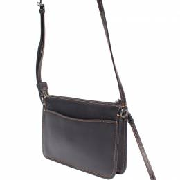 Coach Black Leather Soho Crossbody Bag 219350