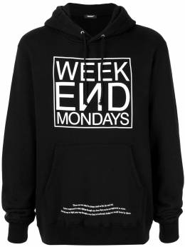 Undercover худи Week End Mondays UCW9807