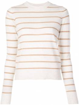 Vince - striped cashmere sweater 35380569550539000000