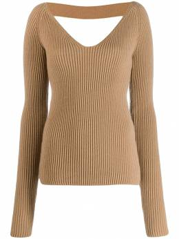 Nº21 - open back knitted sweater 63683903595535056000