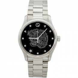 Gucci Silver G-Timeless Tiger Watch YA1264125