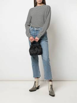 Re/Done - striped long sleeves sweater 0WGTL955363300000000